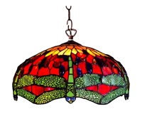 Picture of CH1049DR18-DH2 Dragonfly Pendant Lamp