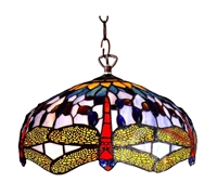 Picture of CH1049DB18-DH2 Dragonfly Pendant Lamp