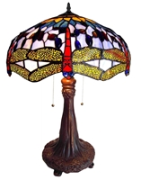 Picture of CH1049DB18-TL2 Dragonfly Table Lamp