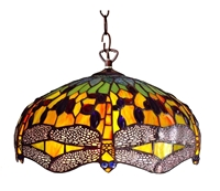 Picture of CH1049DG18-DH2 Dragonfly Pendant Lamp