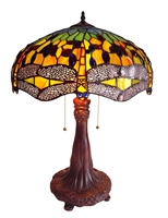 Picture of CH1049DG18-TL2 Dragonfly Table Lamp