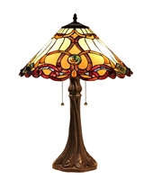 Picture of  CH33372IV18-TL2 Victorian Table Lamp