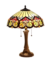 Picture of CH33448AV16-TL2 Victorian Table Lamp