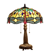 Picture of  CH33471BD16-TL2 Dragonfly Table Lamp