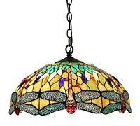 Picture of CH33471BD18-DH2 Dragonfly Ceiling Pendant