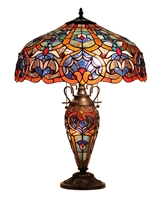 Picture of CH33473BV18-DT3 Double Lit Table Lamp