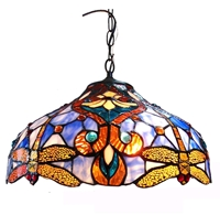 Picture of CH1B717BD17-DH2 Dragonfly Ceiling Pendant