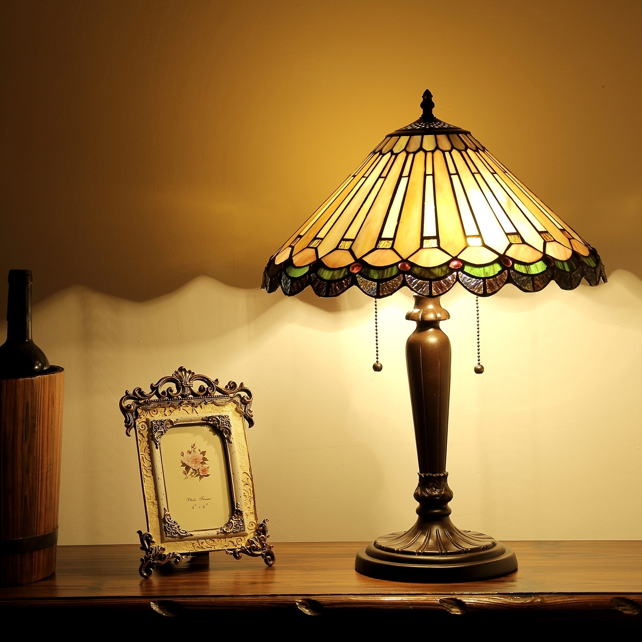 Chloe lighting inc tiffany lamp tiffany lamps tiffany style chloe lighting inez tiffany style 2 light mission table lamp geotapseo Choice Image