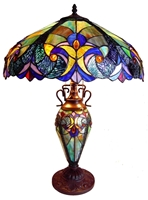 Picture of CH18780VT18-DT3 Double Lit Table Lamp