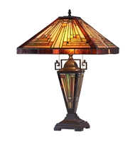 Picture of CH33359MR16-DT3 Double Lit Table Lamp