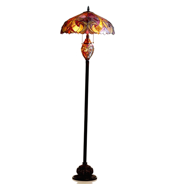 Picture Of CH18780VR18 DF3 Victorian Floor Lamp