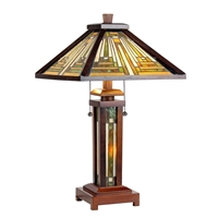 Picture of CH33359WM15-DT3 Double Lit Table Lamp