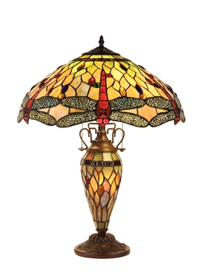 Picture of CH32825DB19-DT3 Double Lit Table Lamp