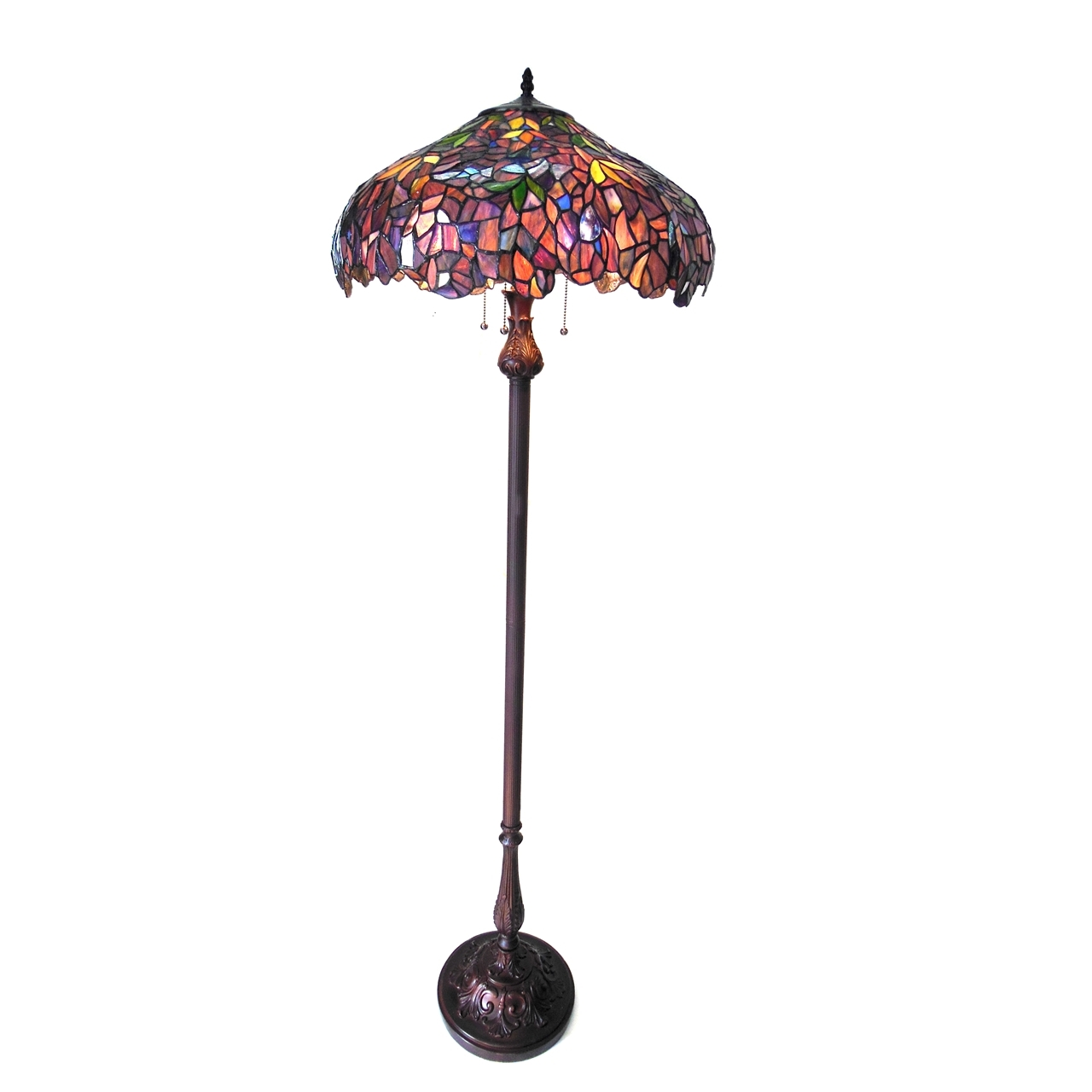 Chloe lighting inc tiffany lamp tiffany lamps tiffany style lamp picture of ch18045pw20 fl3 floor lamp aloadofball Image collections