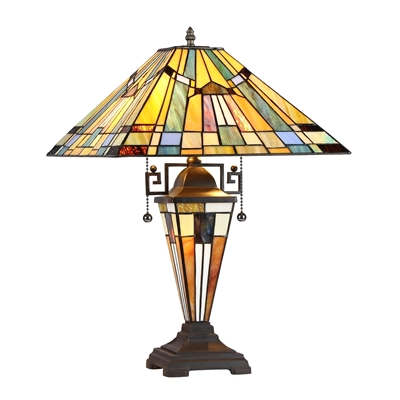 Picture of CH33293MS16-DT3 Double Lit Table Lamp