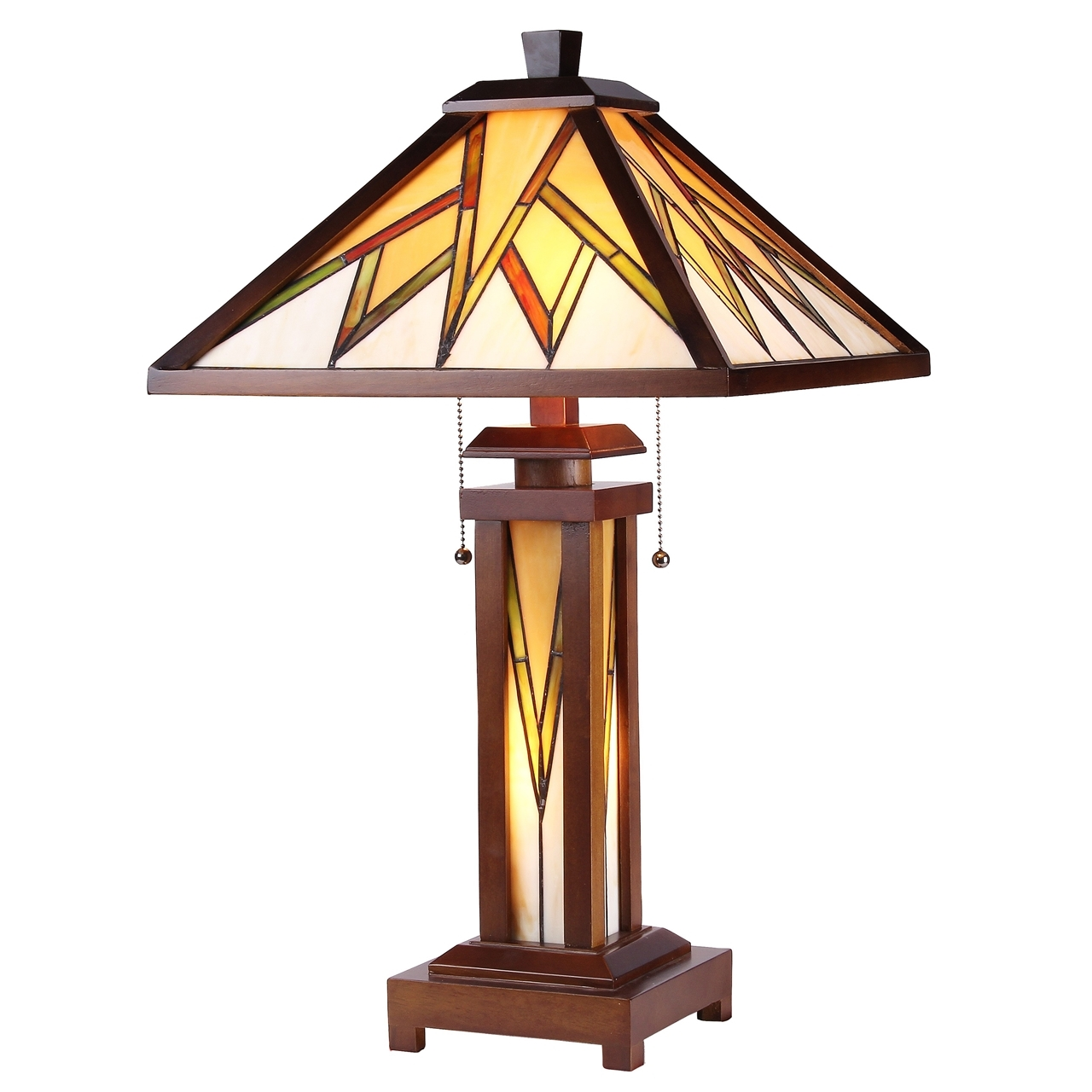 Chloe lighting inc tiffany lamp tiffany lamps tiffany style lamp chloe lighting lamorak tiffany style mission 3 light double lit wooden table lamp aloadofball Image collections