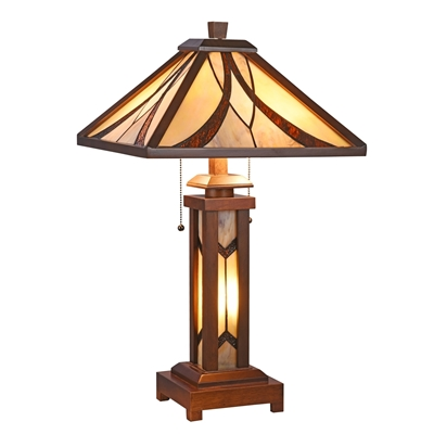 Picture of CH3T949WM15-DT3 Double Lit Table Lamp