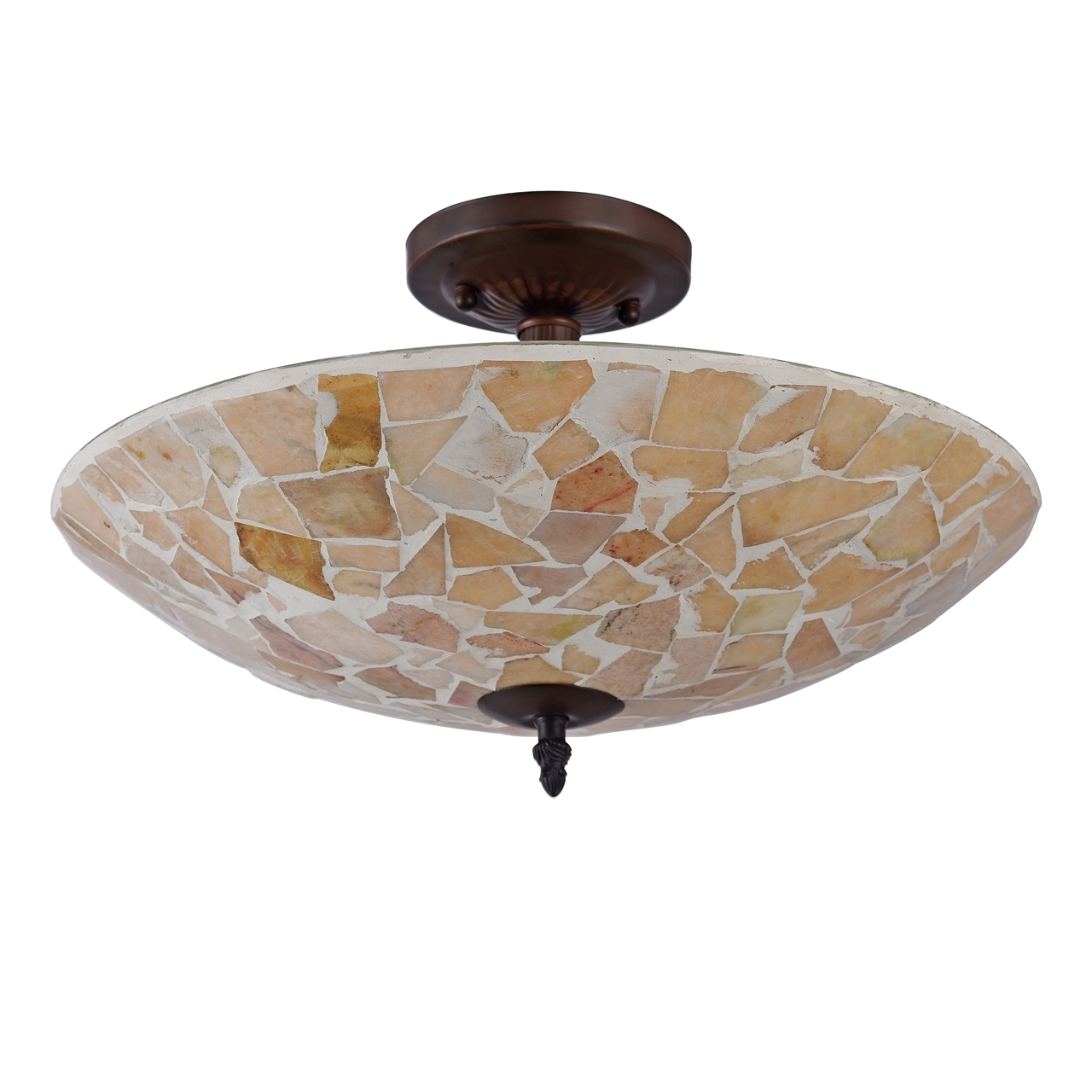 Conical 16 Drum Semi Flush Fixture In 2019: CHLOE Lighting, Inc CH3C003AM16-UF2 Semi-flush Ceiling Fixture